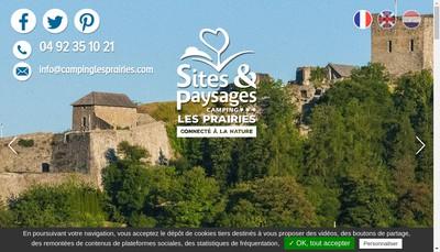Site internet de Les Prairies