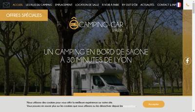 Site internet de Camping Parc Beaujolais