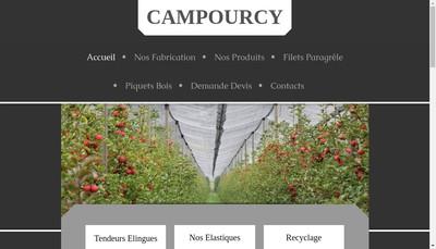 Site internet de SAS Campourcy