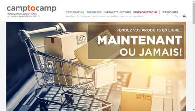 Site internet de Camptocamp France SAS