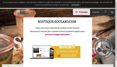 Site internet de Ernest Soulard
