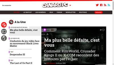 Site internet de Presse Non Stop