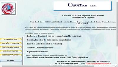 Site internet de Canatech