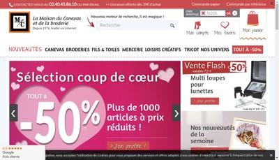 Site internet de La Maison du Canevas