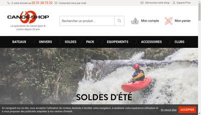 Site internet de Cap Loisirs