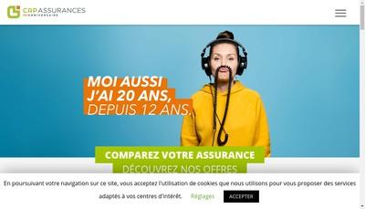 Site internet de Cap Assurances