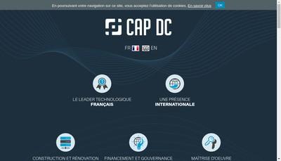 Site internet de Cap DC
