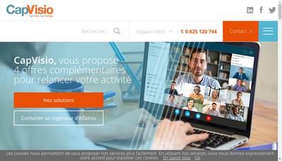Site internet de Cap Visio