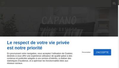 Site internet de Gaetan Capano
