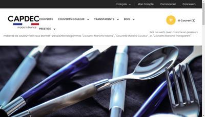 Site internet de Capdeco