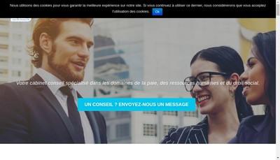 Site internet de Capec Rh