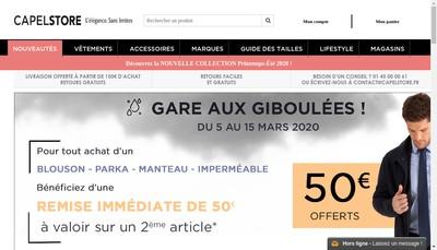 Site internet de Capel