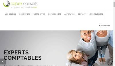 Site internet de Cabex Marne la Vallee