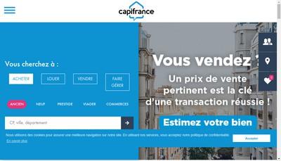 Site internet de Capi France