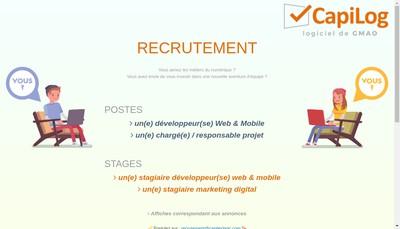 Site internet de Capitechnic