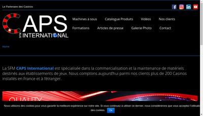 Site internet de Caps International