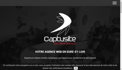 Site internet de Captusite