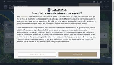 Site internet de Car Avenue France