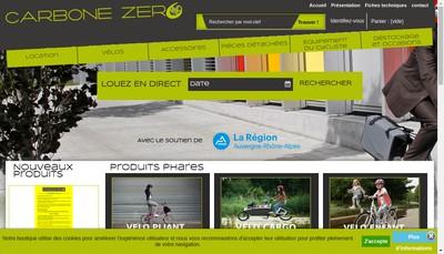 Site internet de Carbone Zero