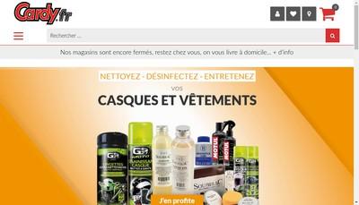 Site internet de Cardy