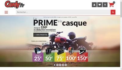 Site internet de Cardy Clermont Ferrand