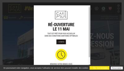 Site internet de Carepolis