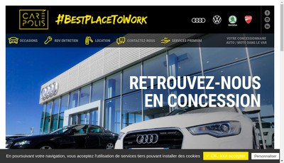 Site internet de Carepolis Tp