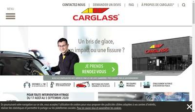 Site internet de Carglass Investments