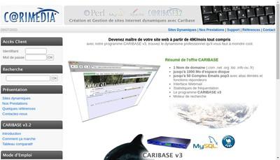 Site internet de Carimedia