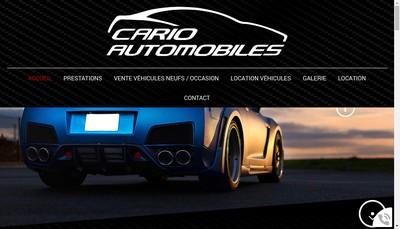 Site internet de Cario Automobiles