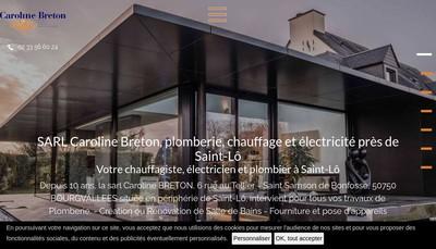 Site internet de SARL Caroline Breton