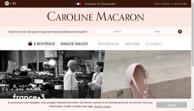 Site internet de Caroline Macaron