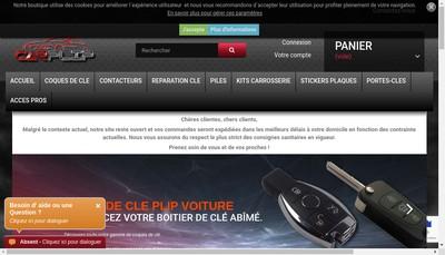 Site internet de Carplip