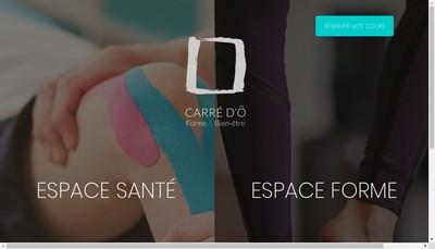 Site internet de Carre d'O