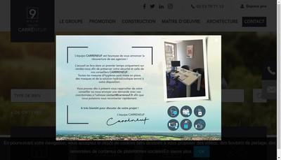 Site internet de Pierre de Loire Carre Neuf Construction