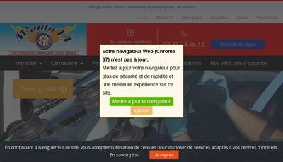 Site internet de M'Auto14
