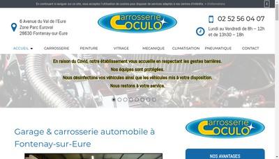 Site internet de Carrosserie Coculo