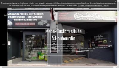 Site internet de Meca-Custom