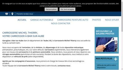Site internet de SARL Michel Thierry