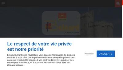 Site internet de Carrosserie Belnard