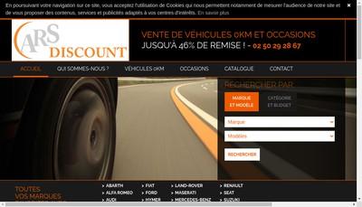 Site internet de Cars Discount