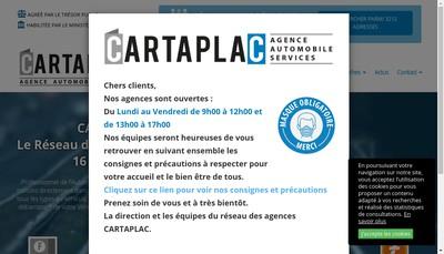 Site internet de Cartafrance