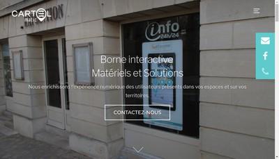 Site internet de Societe Cartel