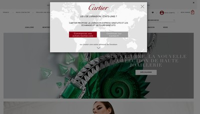 Site internet de Le Must de Cartier Piaget