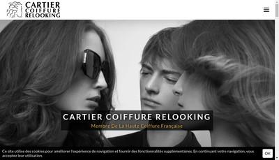 Site internet de EURL Cartier Marie Pierre