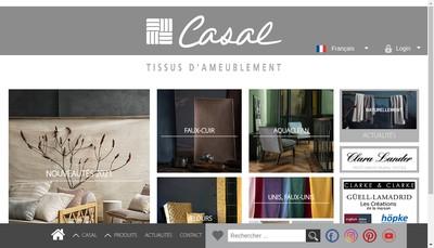Site internet de Casal