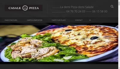 Site internet de Casale Pizza