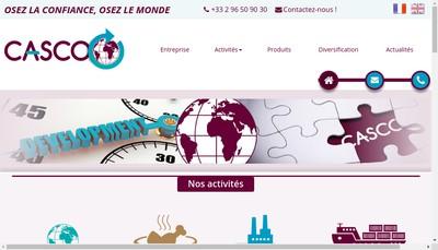 Site internet de Casco