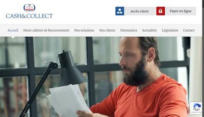 Site internet de Cash & Collect