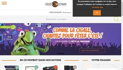 Site internet de Cash Express